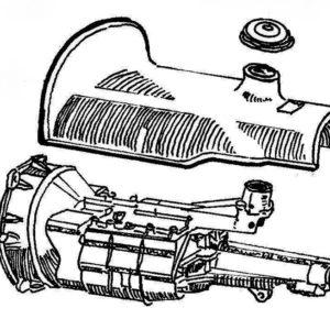 Gearbox - 4 Speed Centre Change